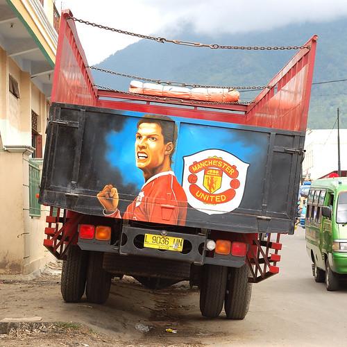 Cristiano Ronaldo Manchester United Truck