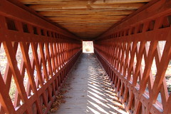 11-4-07 Covered bridge, Brookline, NH (mister pitchers) Tags: newengland newhampshire coveredbridge brookline nissitissit