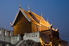 City Gate (cfimages) Tags: city light night thailand puerta gate porta porte tor stadttor citygate khorat stadpoort