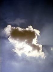 child in the cloud (Olympus PEN-D) (potopoto53age) Tags: blue boy sky cloud sun white nature japan ray kodak olympus half ektachrome halfsize pend kodakektachromee100g 32mm e100g fzuiko olympuspend boyinthecloud olympusfzuiko32mmf19