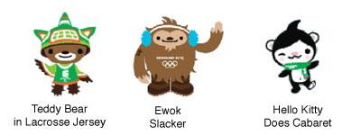 2010 Olympic Mascots at Flickr.com