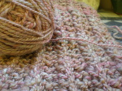 Handspun One Row Scarf