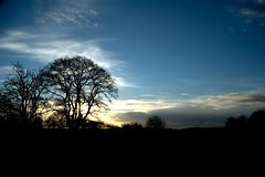 South Park Oxford (jamesgrayking) Tags: park winter sunset sky cloud sun tree bench james king south gray oxford greass