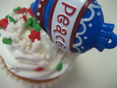 Peace Cupcake!