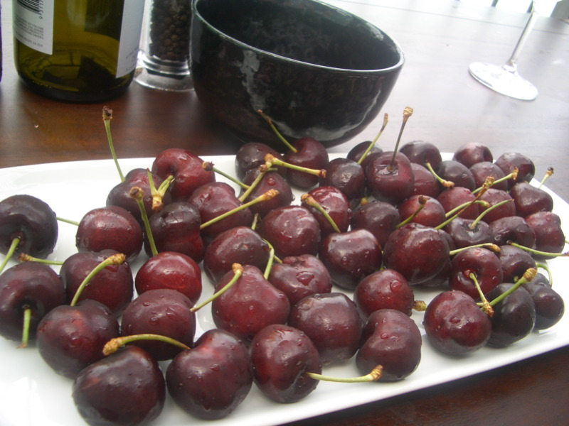 Amazing cherries