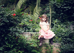Garden ({amanda}) Tags: wild overgrown girl garden child mykid 85mm naturallight mygirl fiveyears 5years overcastlight amandakeeysphotography