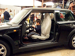 driving the mini