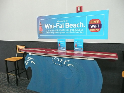 Surfing at Wai-Fai Beach