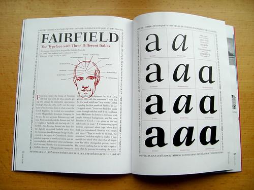Linotype Matrix 4.3 Fairfield