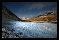 Rhein (Marcel Cavelti) Tags: water river landscape switzerland wasser explore fluss rhein sigma1020mm graubnden grisons digitalblending haldenstein abigfave diamondclassphotographer theperfectphotographer goldenvisions