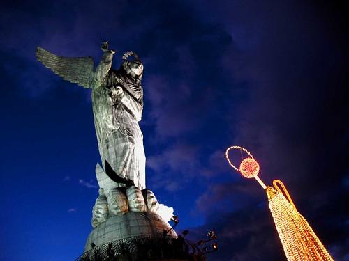 Virgen del Panecillo, Quito, Ecuador