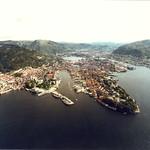 Bergen: fugleperspektiv