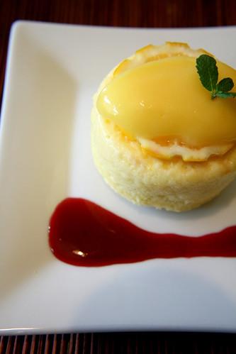meyer lemon pudding cake 018