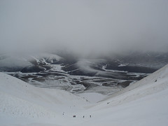 Valle Santa-Monti Sibillini (danosmanvive) Tags: mountain neve alpinismo montagna appennino ghiaccio salita castelluccio sibillini canalone ramponi piccozza vallesanta iraffinati