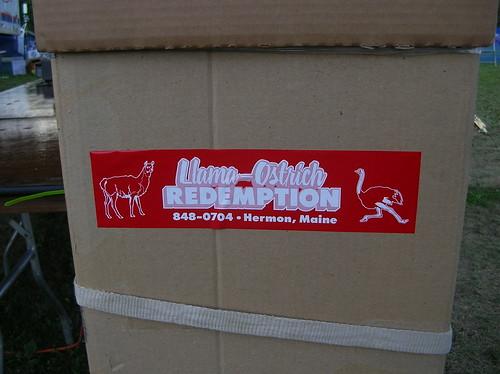 Llama Ostrich Redemption! Curious