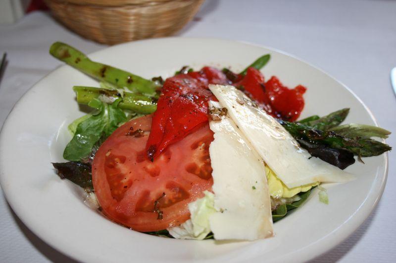 Half Asparagus Salad