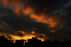 Sunset Explosion Bra$il (Anderson Sutherland) Tags: sunset urban orange sun brasil clouds buildings king saopaulo sãopaulo explosion sampa skyshots andersonsutherland sampaclick