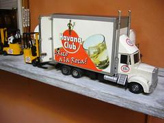 Havana Club貨車模型