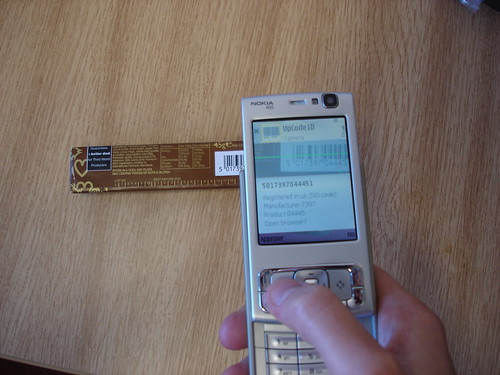 using the bar-code reader