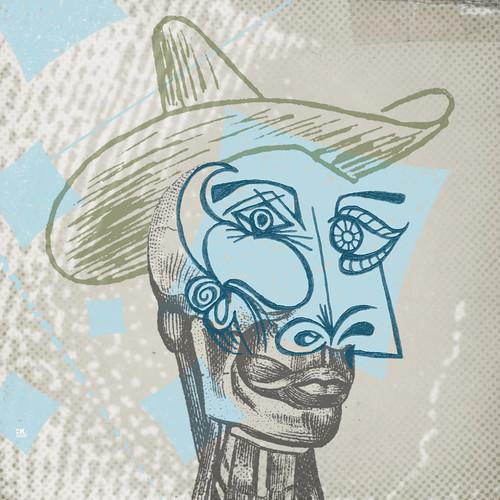 Cubist Cowboy