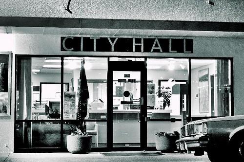 City Hall in Stayton Oregon
