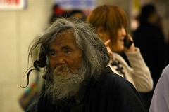 Mid Saturday morning Shinjuku (philipjbigg) Tags: travel people tourism japan modern japanese tokyo asia traditional homeless sightseeing streetphotography places adventure journey colourful japaneseculture cultural jobless sociology 21stcentury homelessness hardtimes homelessguy homelessman socialproblem sleepingrough socialissue gaman politicalissue philipbigg philipjbigg