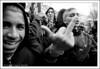 Les doigts dans le nez ;-) (Hughes Léglise-Bataille) Tags: blackandwhite bw paris france topf25 kids education noiretblanc fuck finger protest teenagers demonstration 2008 manif manifestation lycéens darcos