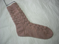 Finished Monkey Sock