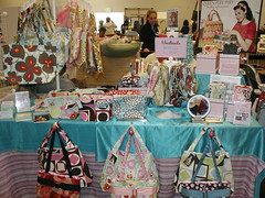 Queen Puff Puff booth (queen puff puff) Tags: handmade crafts sanmateo seamsters bazaarbizarre makerfaire queenpuffpuff