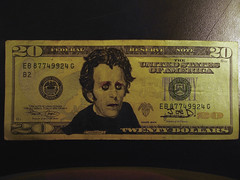 Nobody Understands Goth Jackson (Joe D!) Tags: money d goth joe jackson government presidents tender defaced dollars joed refacing
