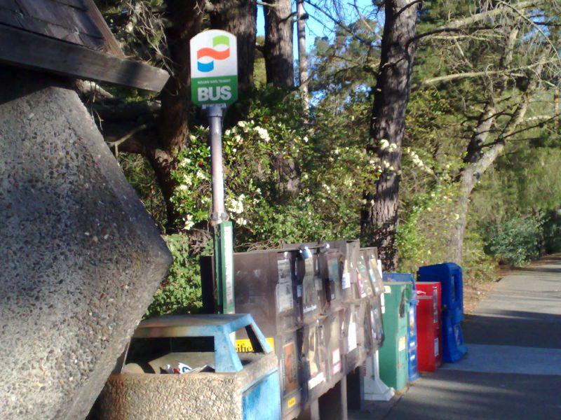 Sausalito Bus Stop