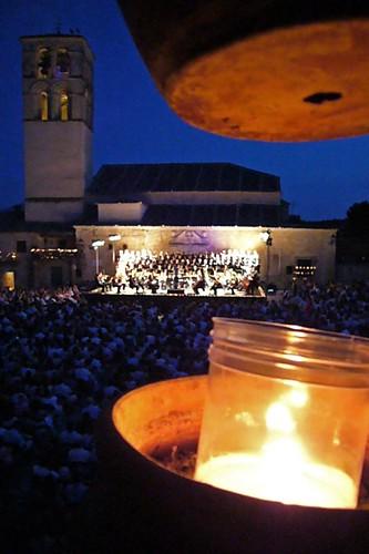 Torre de San Juan, orquesta y vela