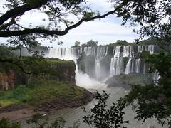 Iguazu - parc - chute d'eau