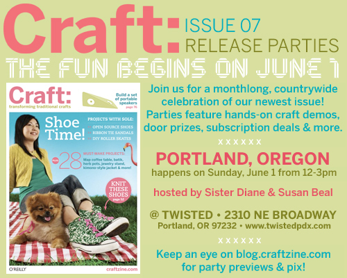magazine release party - June 1!