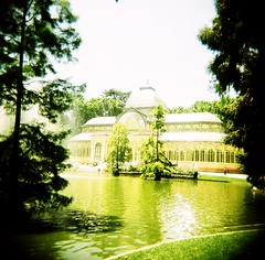 Glasshouse (CptCook) Tags: madrid 120 holga xpro agfa retiro top20xpro rsxii cfn