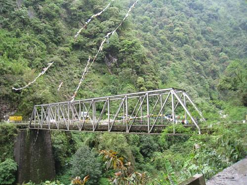 Bridge to North Sikkim