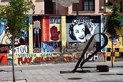 Zaragoza Street Art (Bruce Poole) Tags: brucepoole 2016 streetart mural art spain zaragoza aragon wallart contemporaryart brucesspace urban urbano cite city ville metropolitan