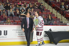 Hockey vs. Providence 2/24 (dailycollegian) Tags: hockey providence umassathletics umass umassamherst universityofmassachusetts jessicapicard 22417 mullinscenter 15 ray pigozzi coach greg carvel