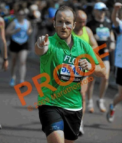 London's Marathon : done