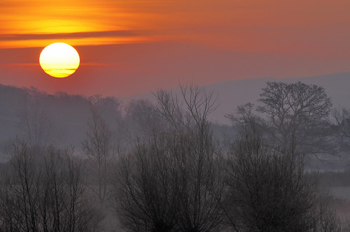 Sunrise over Gloucestershire 1