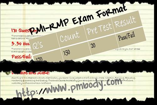 PMI-RMP Exam Format