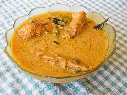 kerala fish molee stew meen molee recipe
