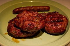 Venison/Beef Burgers