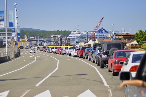 Riding with BC Ferries