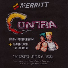 Contra Cross Stitch Scan