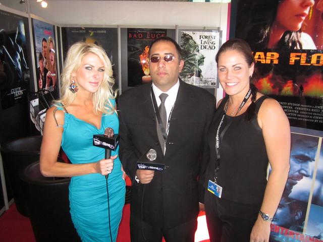 The Cannes Film Market with Emilio Ferrari Founder of Entertainment 7, Jennifer Lexon, Tara Wood