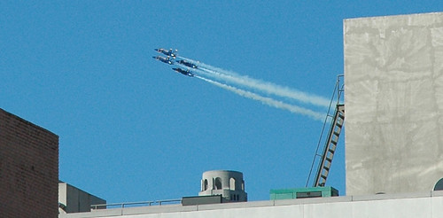 Blue Angels - Coit Tower