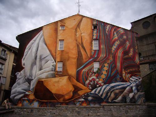 La pared vestida by microlito.