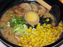 Ramen with Corn
