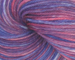 Purple Mountains Majesty on Worsted Rambouillet Yarn - 4 oz (WW)